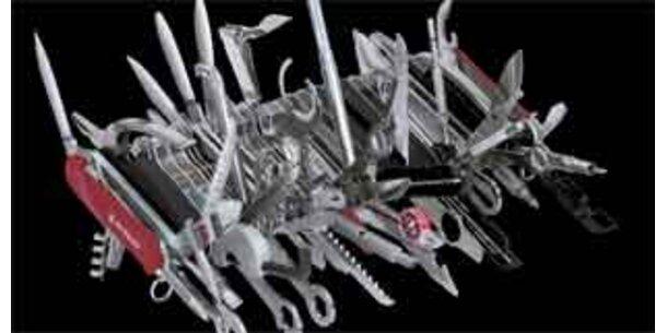 Taschenmesser mit 87 Werkzeugen