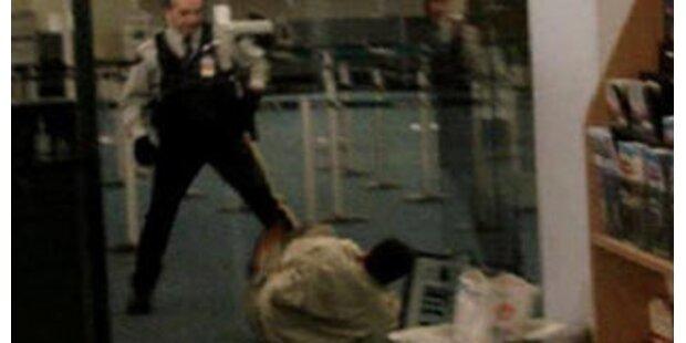 Folgt Taser-Verbot nach Schock-Tod am Flughafen?
