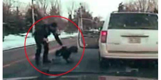 Polizist schoss mit Taser auf Mutter