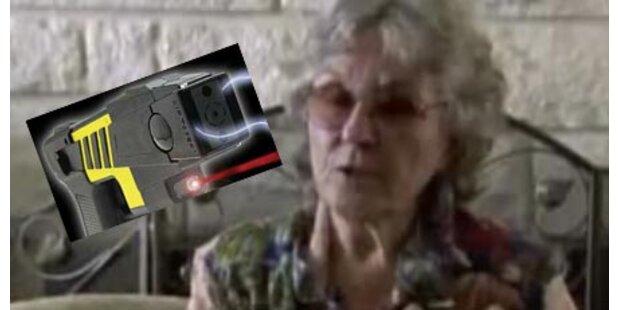 Polizist benutzte Taser bei 72-Jähriger