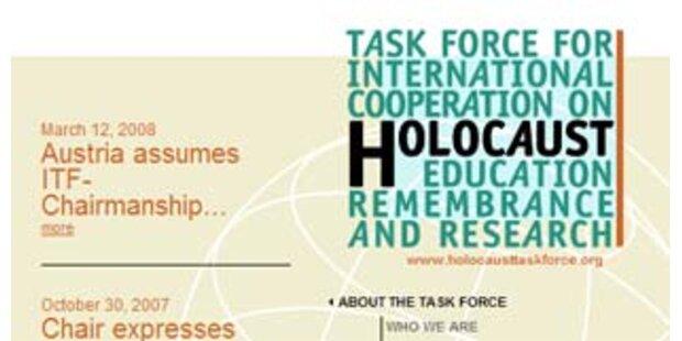 Österreich hat Vorsitz der Holocaust Task Force