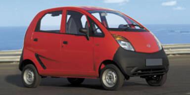 Tata bringt billigstes Auto der Welt