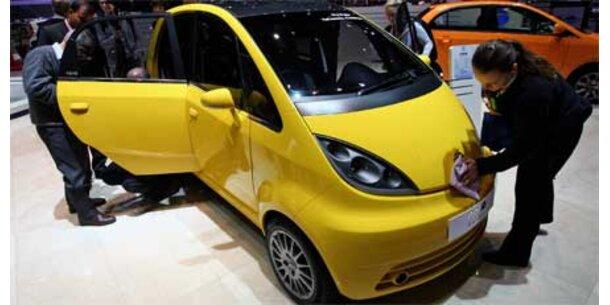 Tata zeigt das billigste Auto der Welt