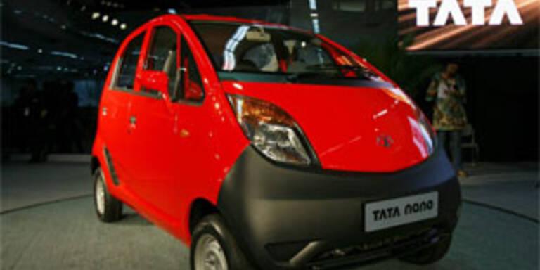 Indisches Billig-Auto soll Europa erobern