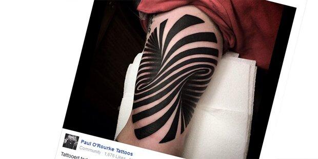 Verrücktes Tattoo wird zum Internet-Hit