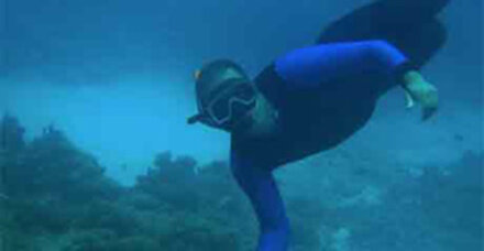 Taucher betonieren 33.000 m2 unter Wasser