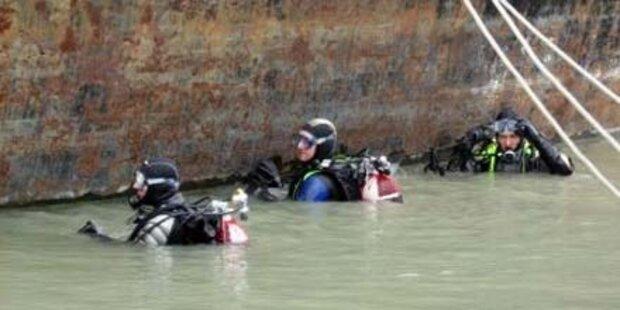 Betrunkene aus der Donau gerettet