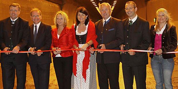 Tauerntunnel: Zweite Röhre ist offen
