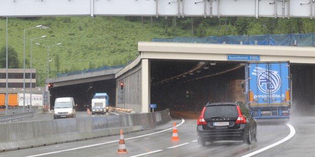 Mit 170 km/h durch Tauerntunnel gerast