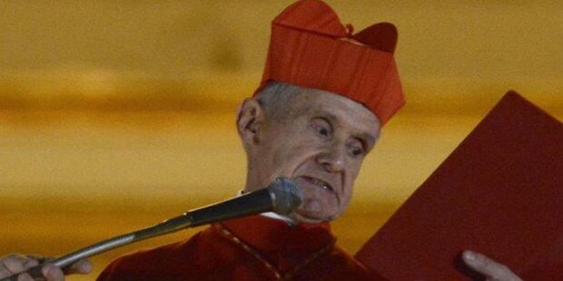 Papst ernennt neuen Kämmerer