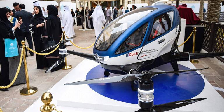 Dubai testet eine Taxi-Drohne