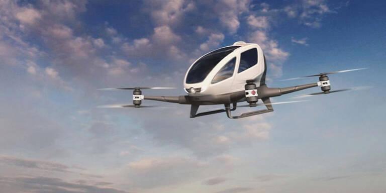 Uber arbeitet mit NASA an Flug-Taxis