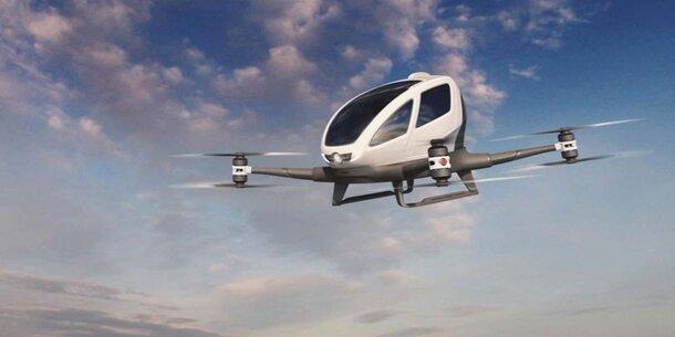 Taxi Drohne Dubai