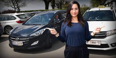 ÖSTERREICH-Test: UBER gegen Taxi