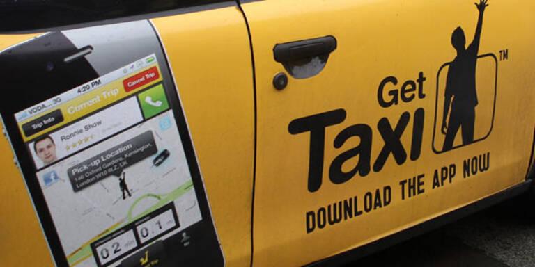 Neue Digital-Welt: Taxi per App-Tastendruck