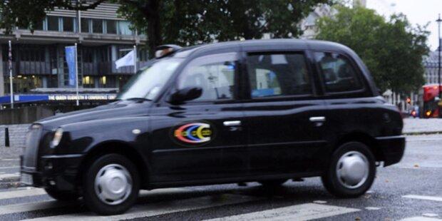 Mutter vergaß Baby in Londoner Taxi