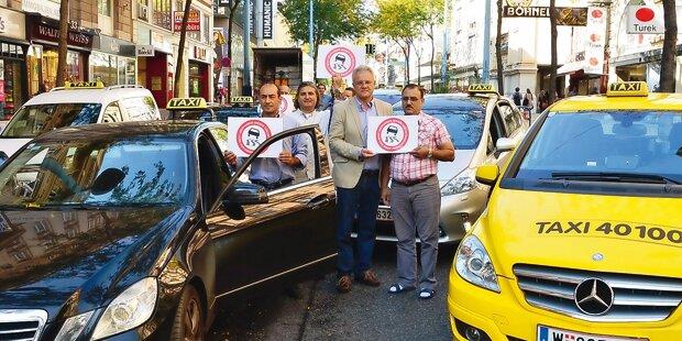 Das Wiener Duell Taxis gegen Uber