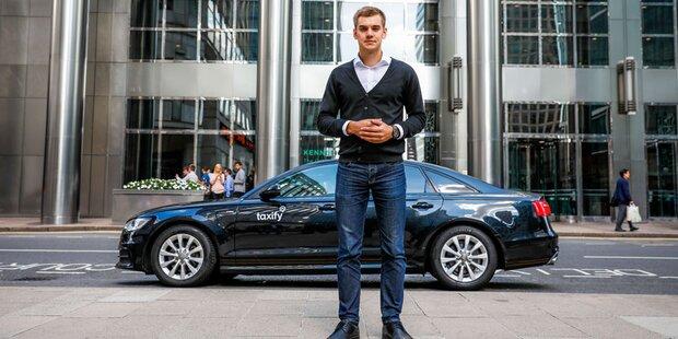Fahrtendienst Taxify startet in Wien