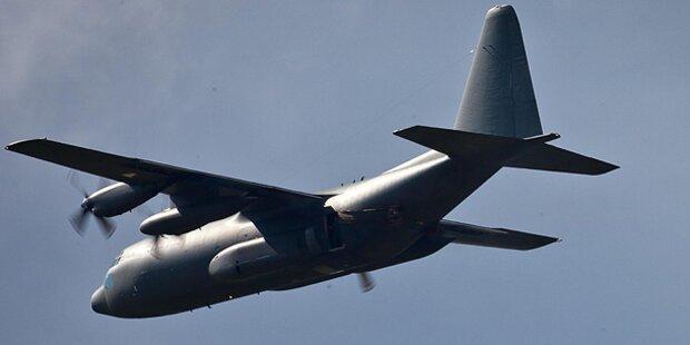 Absturz eines Militärflugzeugs