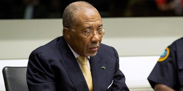 Ex-Diktator Taylor zu 50 Jahren verurteilt