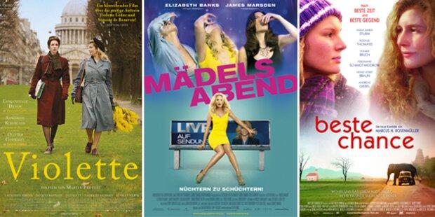 Die Kinohighlights der Woche