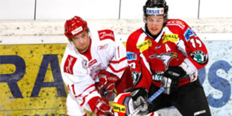 Österreichs Eishockeyteam besiegt Dänemark 5:1