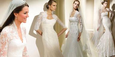 Kates Brautkleid zum Nachshoppen