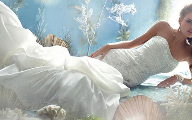 Brautkleider wie im Disney-Märchen