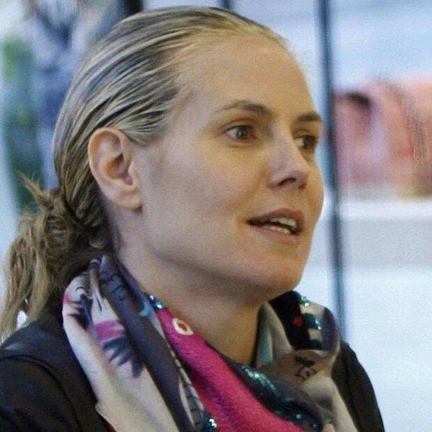 Gehen Heidi Klum Etwa Die Haare Aus