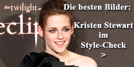 teaser Kristen Stewart im Style-Check Twilight Star Bella