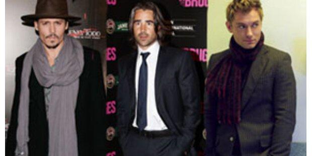 Trio: Depp, Law und Farrell ersetzen Ledger