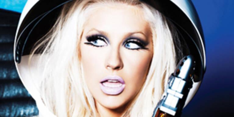 Christina Aguilera als sexy Außerirdische