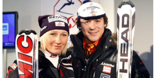 Unsere Ski-Stars in neuem Gewand