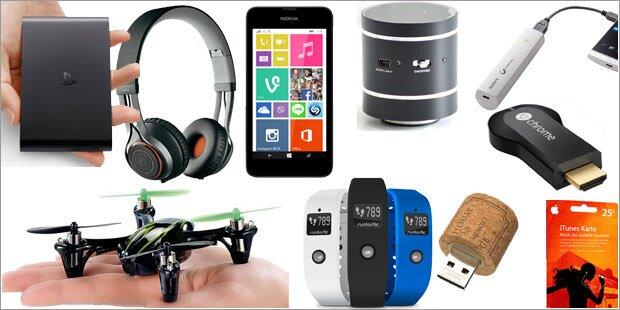 20 Tech-Geschenke für unter 100 Euro
