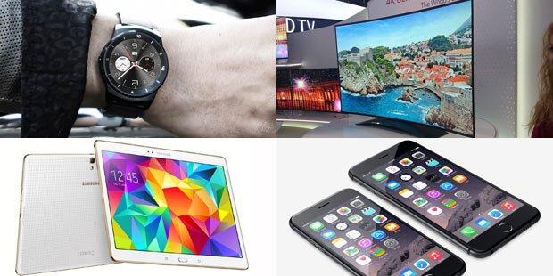 Die Tech-Neuheiten des Jahres