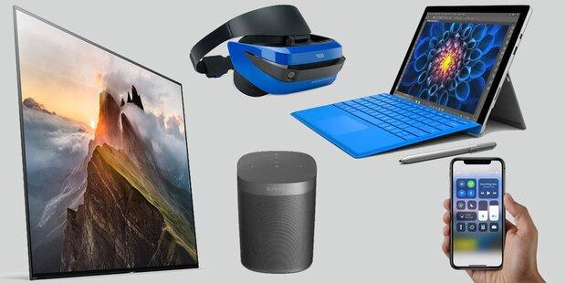 Was sich Technik-Fans heuer wünschen