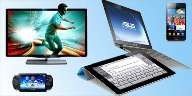 Das sind die Technik-Trends 2012
