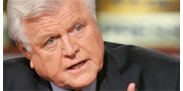 Senator Edward Kennedy hat bösartigen Gehirntumor