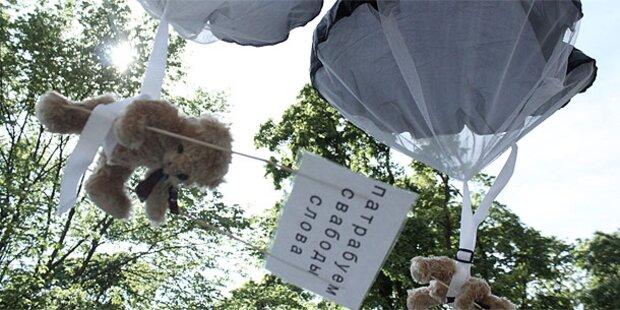 Teddybären-Konflikt spitzt sich zu