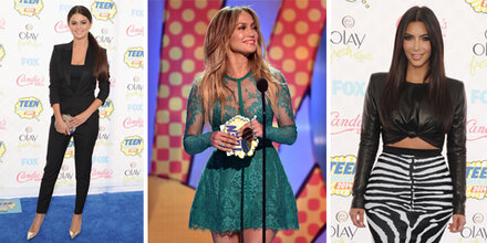 Die Outfits des Teen Choice Awards 2014