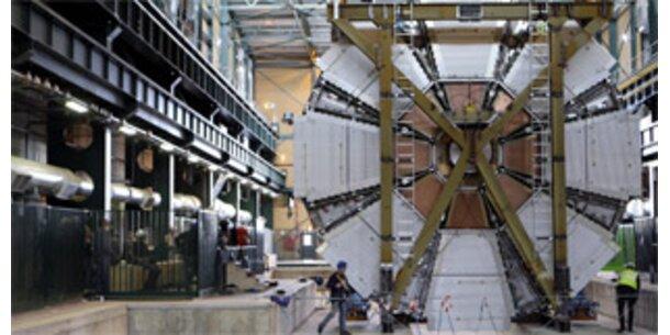 CERN-Teilchendetektor bald funktionstüchtig