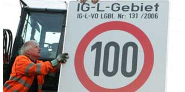 Tempo 100 scheint für kommenden Winter um Graz abgesagt