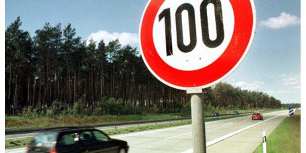 Pendler wollen Tempo 100 stürzen