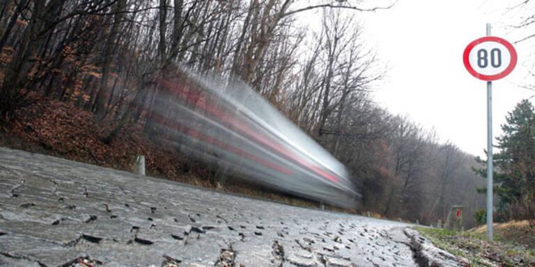 50 km/h zu schnell: Strafe von 2.900 Euro