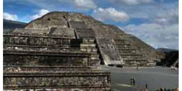 Geheimtunnel der Sonnenpyramide wird geöffnet