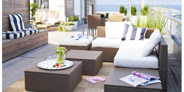 Gartenmöbel - Design fürs Freie