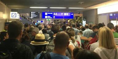 Polizei-Einsatz: Flughafen Frankfurt geräumt