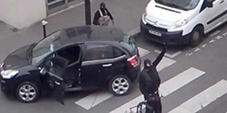 Neues Flucht-Video der Terror-Brüder