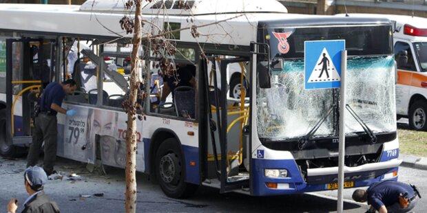 Tel Aviv: Bus-Attentäter festgenommen