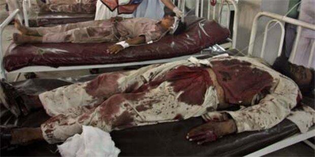 56 Tote nach Anschlag in Pakistan